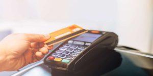 Customer-tap-payment-Credit-Card-terminal